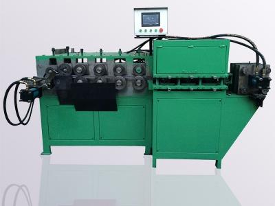 扁钢自动打圈机数控卡箍机 不锈钢压型打圈机 油桶箍机