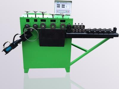 全自动钢筋打圈机 电线杆弯箍机 水泥杆圆圈机 铁线卷圈机