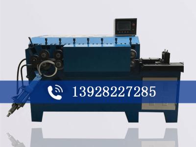 扁钢成型打圈机 法兰自动卷圈机 五金扁铁打圈机